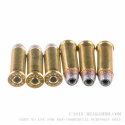 500 Rounds of .44 Mag Ammo by Remington HTP - 240gr SJHP