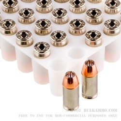 1000 Rounds of .380 ACP Ammo by Speer LE - 90gr JHP
