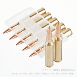 20 Rounds of .338 Lapua Ammo by Federal - 250gr HPBT