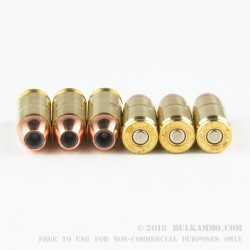 20 Rounds of 9mm + P Ammo by Corbon - 125gr JHP