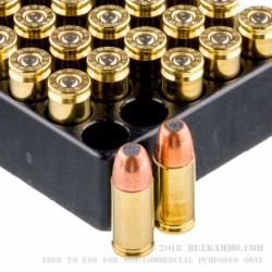 50 Rounds of 9mm Ammo by Remington - 115gr FNEB