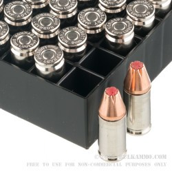 250 Rounds of 9mm +P Ammo by Hornady Critical Duty- 124gr JHP