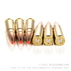 200 Rounds of .300 Whisper Ammo by Hornady - 208gr A-MAX Match