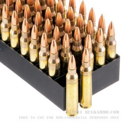 50 Rounds of .223 Ammo by Fiocchi - 55gr FMJ