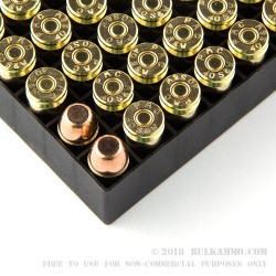 50 Rounds of .40 S&W Ammo by PMC - 180gr FMJFN