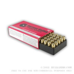 50 Rounds of 9mm Ammo by BVAC - 115gr CPRN