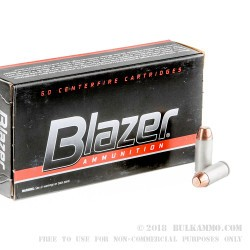 50 Rounds of 10mm Ammo by CCI - 200gr FMJ