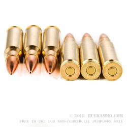 20 Rounds of .308 Win Ammo by Remington - 168gr HPBT MatchKing