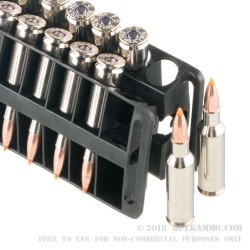200 Rounds of .224 Valkyrie Ammo by Federal - 60gr Nosler Ballistic Tip