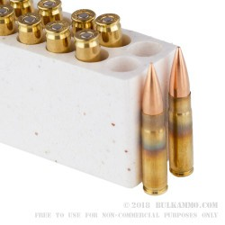 200 Rounds of .300 AAC Blackout Ammo by Armscor - 147gr FMJ