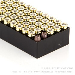 50 Rounds of 9mm Ammo by Fiocchi - 92gr EMB