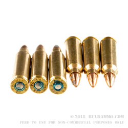 500 Rounds of .223 Ammo by Federal - 55gr FMJBT