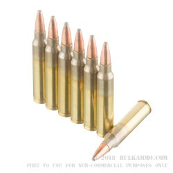 20 Rounds of .223 Ammo by Federal - 62gr Fusion