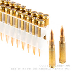 500 Rounds of 7.62x51mm Ammo by Federal Gold Medal - 175gr HPBT