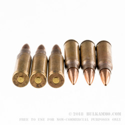 500 Rounds of 7.62x51mm NATO LR XM118 Ammo by Lake City - 175gr OTM Mil-2nds