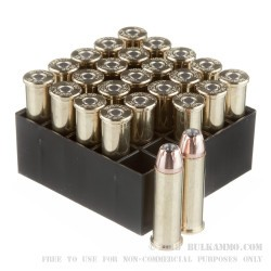 25 Rounds of .38 Spl Ammo by Hornady - 125gr JHP XTP