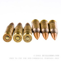 20 Rounds of 7.62x51mm Ammo by Federal American Eagle - XM80CL - 149gr FMJ