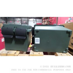 1 New - MTM Case-Gard AC45 - Green Plastic Ammo Can
