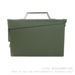 Mil Spec Ammo Can - 30 Cal M19 - Green - New