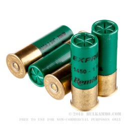 "250 Rounds of 12ga Ammo by Remington -  2-3/4"" 1-1/8 Ounce #5 shot"