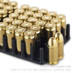 1000 Rounds of .380 ACP Ammo by Pobjeda Tech MAXXTech - 95gr FMJ