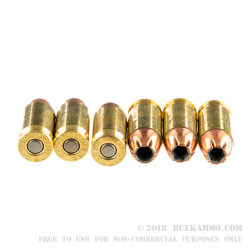50 Rounds of .45 ACP Ammo by Remington HTP Subsonic - 230gr JHP