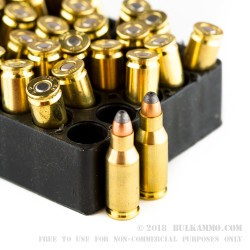 50 Rounds of .22 TCM Ammo by Armscor - 40gr JHP