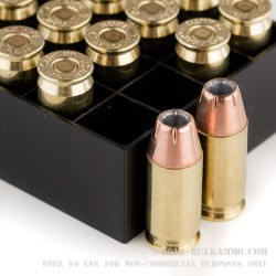 200 Rounds of .45 ACP Ammo by Hornady - 200gr JHP