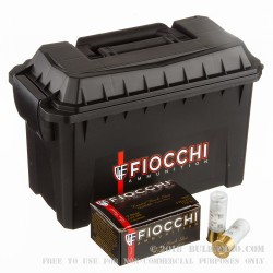 80 Rounds in Plano Box of 12ga Ammo by Fiocchi Law Enforcement -  00 Buck