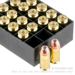 20 Rounds of .40 S&W Ammo by Hornady - 180gr JHP