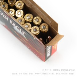 20 Rounds of 6.8 SPC Ammo by Federal American Eagle - 115gr FMJ
