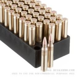 50 Rounds of 5.56x45 Ammo by Black Hills Ammunition - 50gr TSX