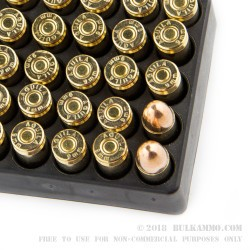 1000 Rounds of 9mm Ammo by Aguila - 115gr FMJ