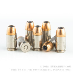 20 Rounds of .45 GAP Ammo by Federal - 230gr JHP Hydra-Shok
