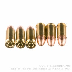 50 Rounds of 9mm Ammo by PMC - 115gr FMJ