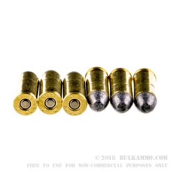 50 Rounds of .45 Long-Colt Ammo by Remington - 250gr LRN
