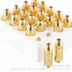 20 Rounds of 9mm Ammo by Magtech Guardian Gold - 124gr JHP