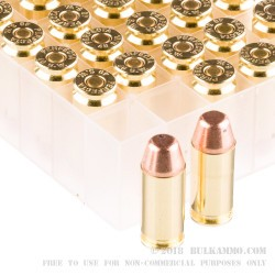 50 Rounds of .40 S&W Ammo by Fiocchi Perfecta - 170gr FMJ