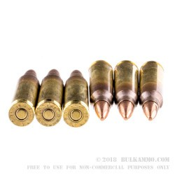 1000 Rounds of 5.56x45 XM193 Ammo by Federal - 55gr FMJBT