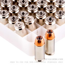 1000 Rounds of .40 S&W Ammo by Speer - 165gr JHP