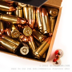 50 Rounds of 9mm Ammo by BVAC - 147gr CPRN