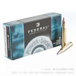 200 Rounds of .300 Win Mag Ammo by Federal - Speer Hot-Cor 180gr SP