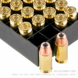 20 Rounds of .45 ACP Ammo by Hornady Custom - 200gr XTP JHP +P