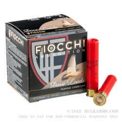 250 Rounds of 410 Bore Ammo by Fiocchi - 1/2 ounce #8 shot