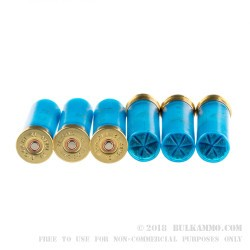 """25 Rounds of 12ga Ammo by Fiocchi Crusher - 2-3/4"""" 1 ounce #7 1/2 shot"""
