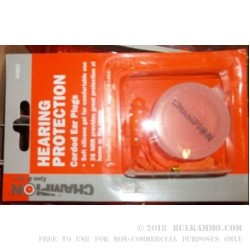 Champion EarPlugs - 1 Corded Set - 26 NRR