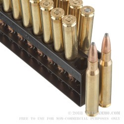 200 Rounds of 30-06 Springfield Ammo by Remington - 180gr PSP