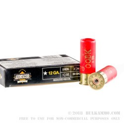 80 Rounds of 12ga Ammo by Armscor - 1 1/8 ounce 00 Buck