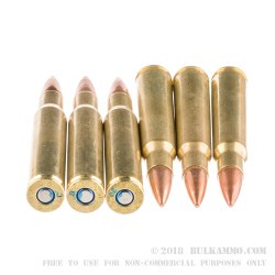 20 Rounds of 30-06 Springfield Ammo by Federal American Eagle - 150gr FMJBT