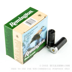 250 Rounds of 12ga Ammo by Remington Game Loads - 1 ounce #8 Shot
